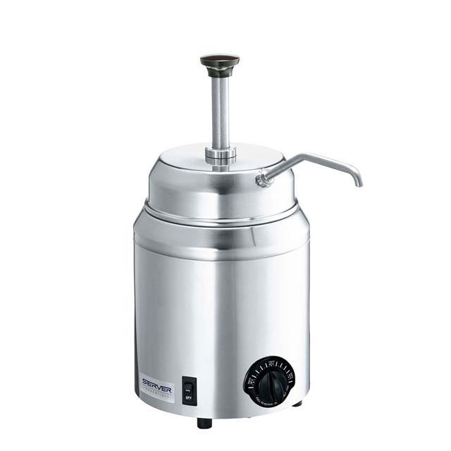 Topping Warmer With Pump